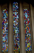 New Stained Glass Window #4, Central Methodist, Winona, MN