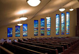 New Stained Glass Window #3,Resurrection Catholic Church,Rochester,MN
