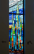 New Stained Glass Window #5,Resurrection Catholic Church,Rochester,MN