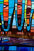 New Stained glass Window #9,Resurrection Catholic Church,Rochester,MN