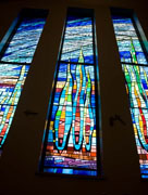 New Stained glass Window #10,Resurrection Catholic Church,Rochester,MN