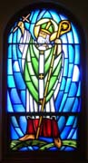 New Stained Glass Window #1, St. Patrick's, Dickenson, SD
